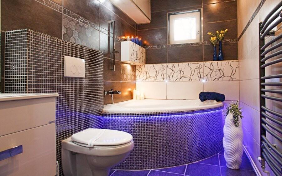 Luxusná kúpeľňa v Apartmáne