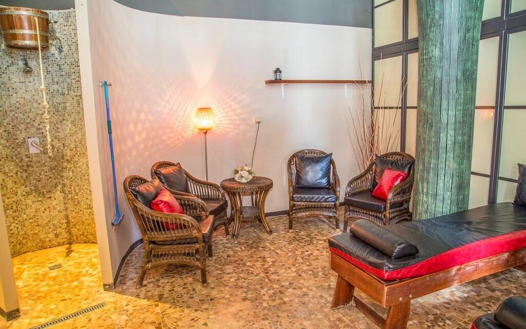 V hotelu můžou hosté využít wellness centrum