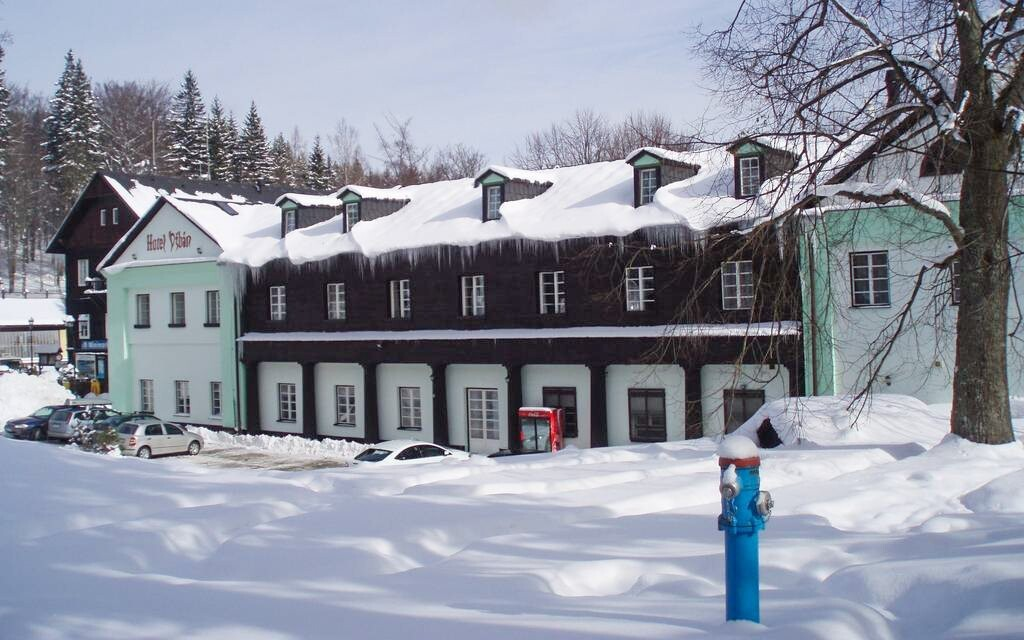 Hotel Džbán v Karlovej Studánke