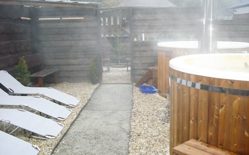Užite si horúci vírivý kúpeľ