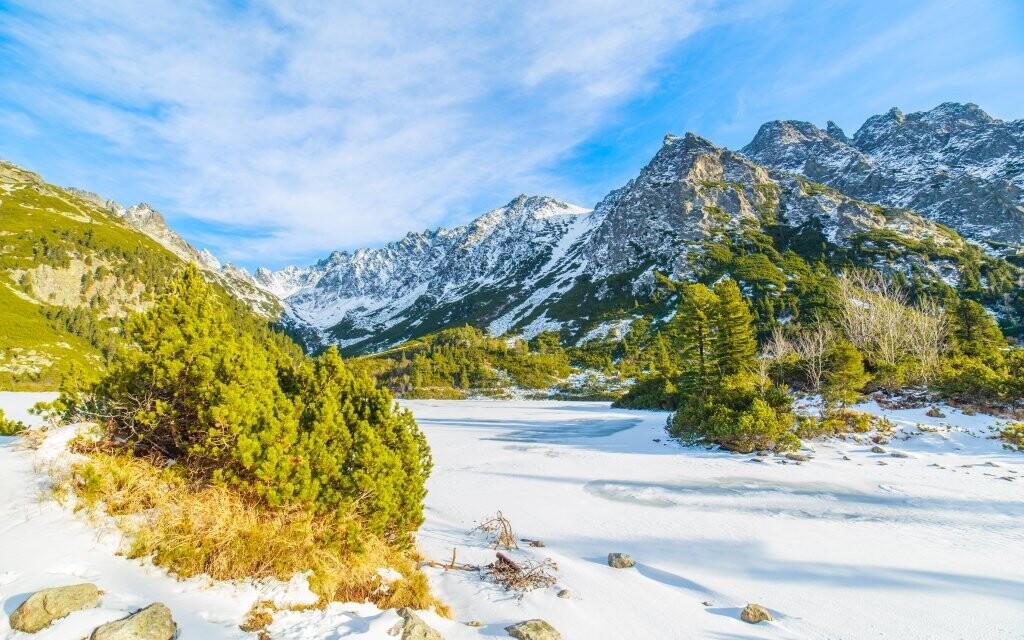 Vysoké Tatry majú v zimě svoje čaro