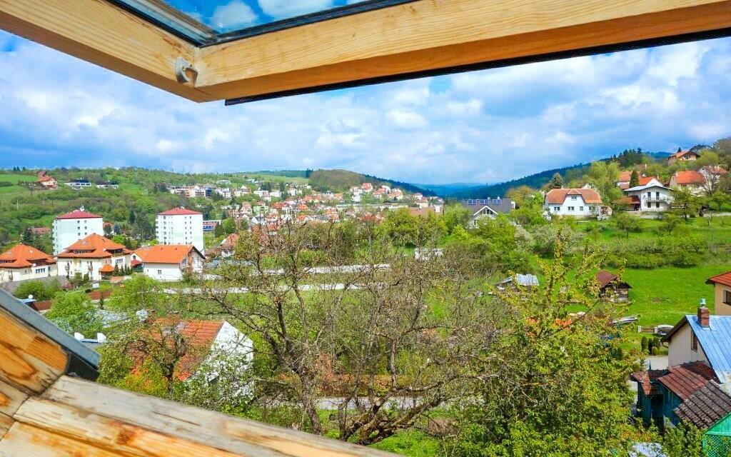 Z penzionu se vám naskytne nádherný výhled na Luhačovice