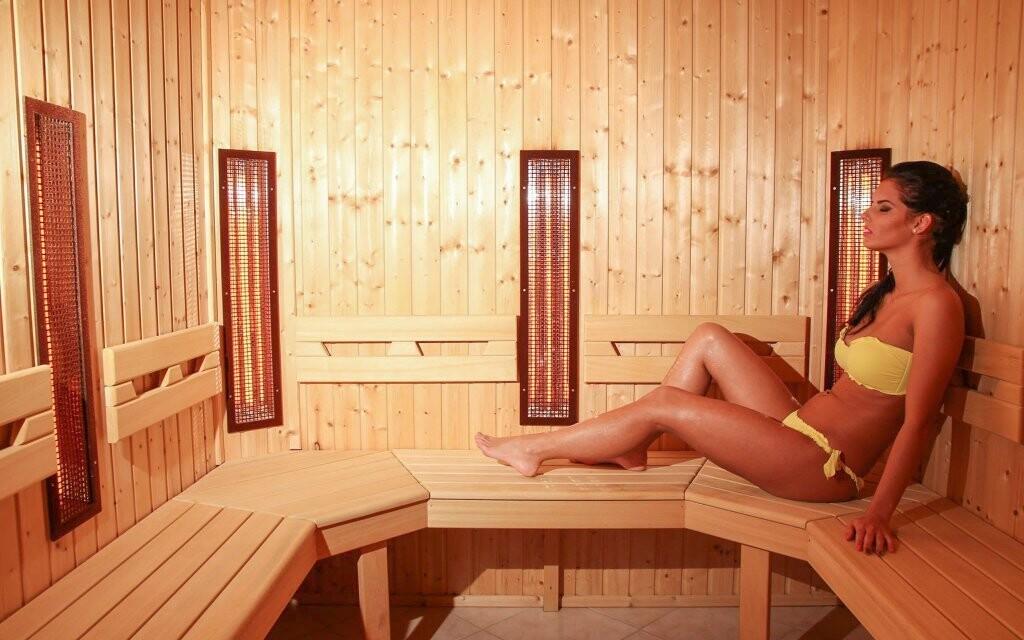 Navštivte infra nebo finskou saunu