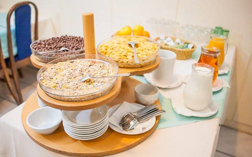 Těšte se na bohaté snídaně formou bufetu