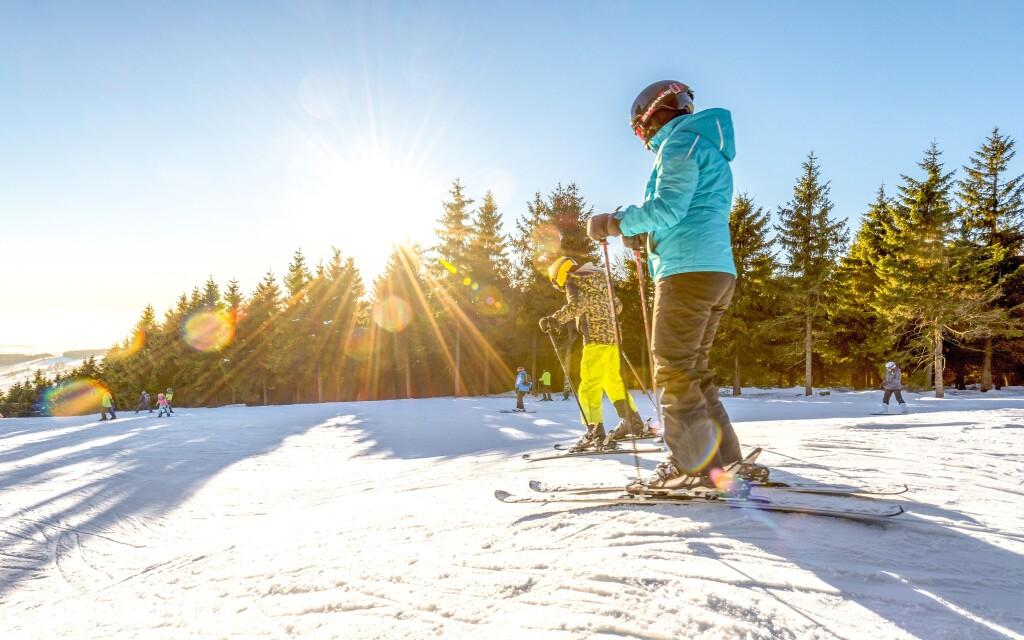 Chalupa Sofie je lyžiarskymi strediskami priam obklopená