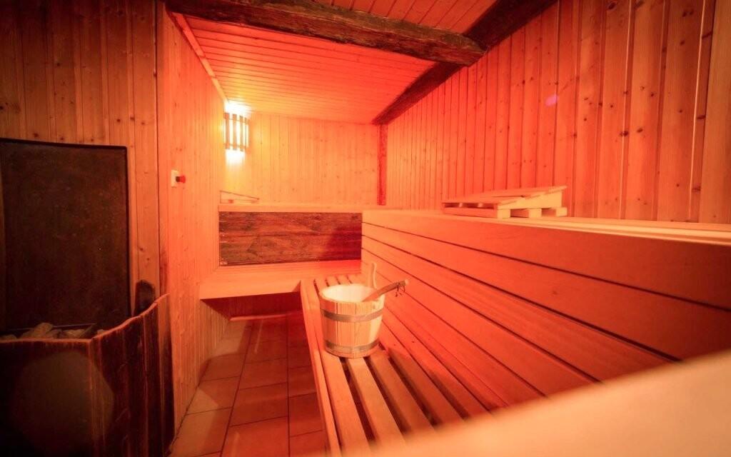 Během pobytu máte volný vstup do sauny