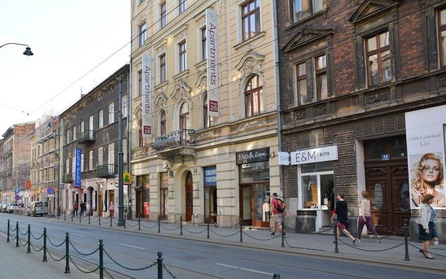 Aparthotel Pergamin *** je přímo v centru Krakova