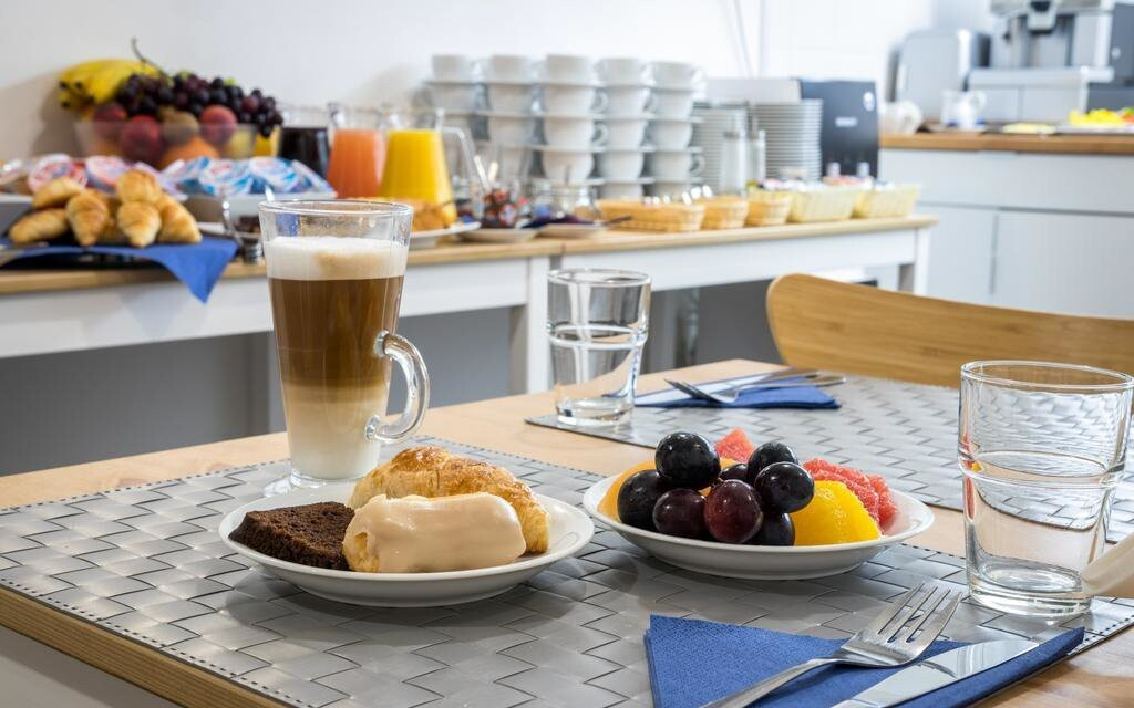 Na vynikajících snídaních si pochutnáte