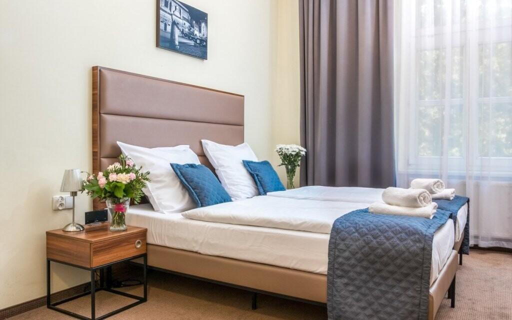 Pergamin Old Town Apartments nabízí moderní vkusné pokoje