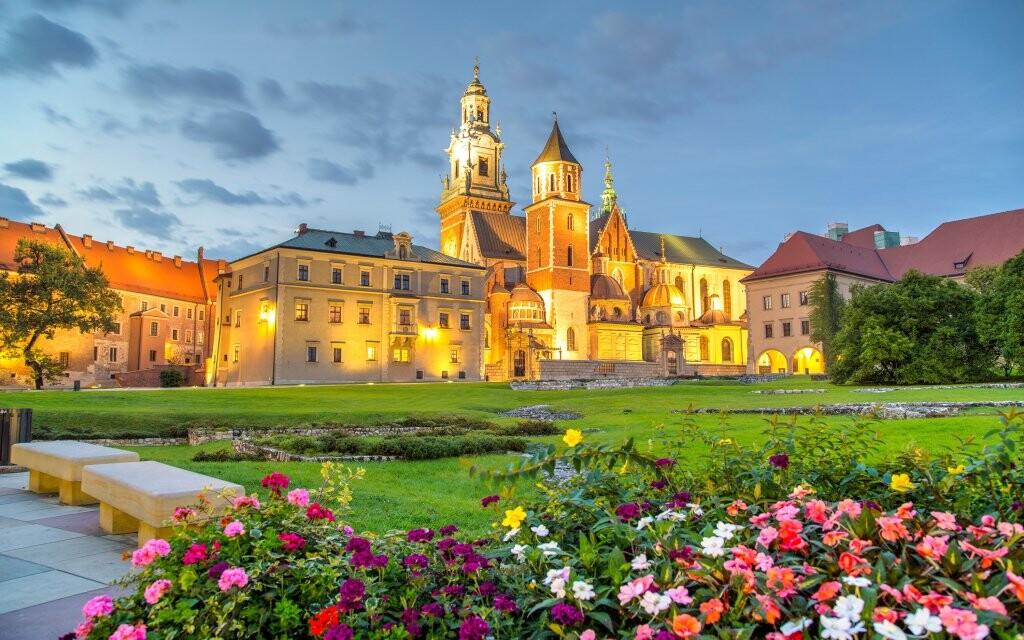 Hrad Wawel, UNESCO, Krakov, Poľsko