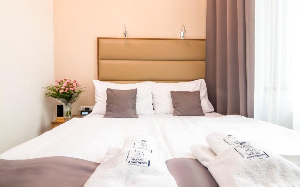 Pergamin Royal Apartments nabízí luxusní pokoje