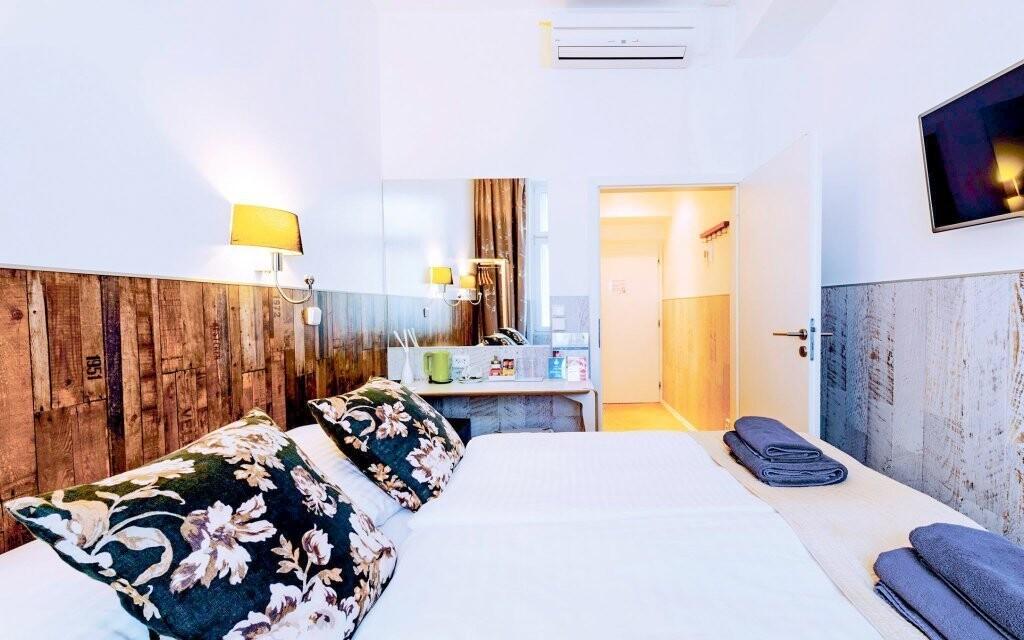 Luxusně zařízené pokoje hotelu
