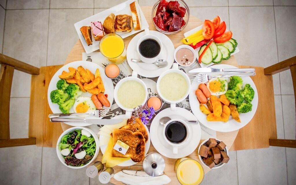 Těšte se na vynikající snídaně
