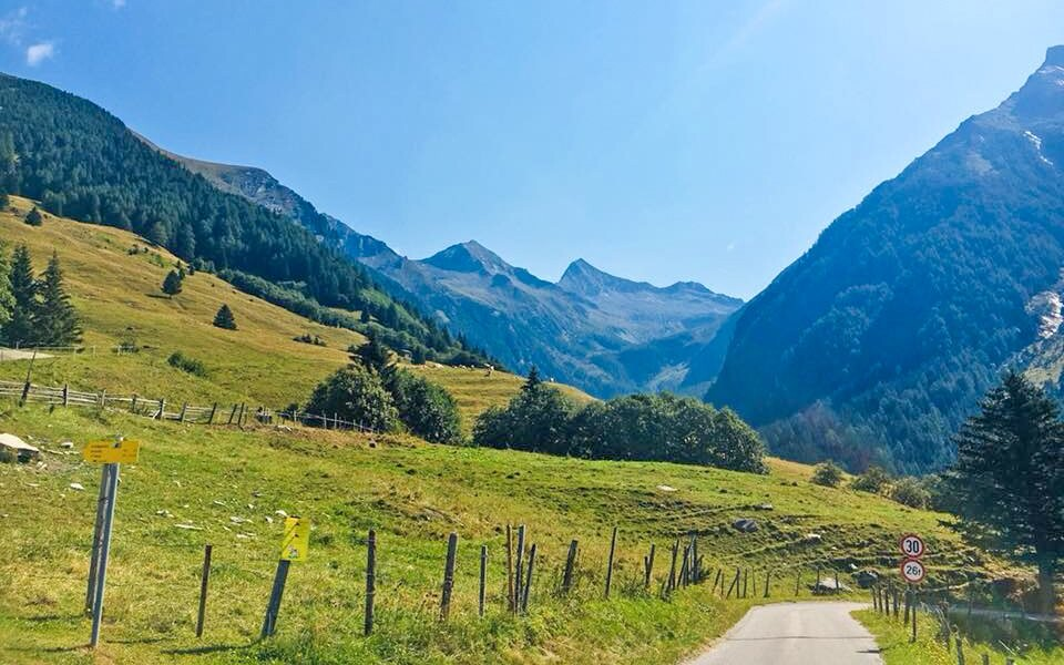 Horská turistika, Vysoké Taury, Rakousko