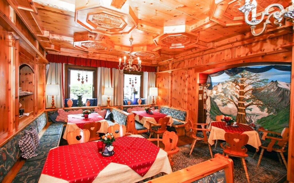 V restauraci si pochutnáte na korutanské kuchyni