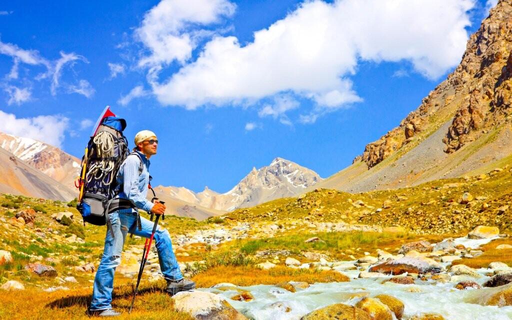 Horská turistika, rakouské Alpy
