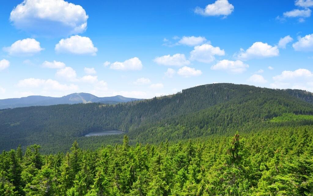 Národný park Šumava, prírodné krásy Česka, turistika