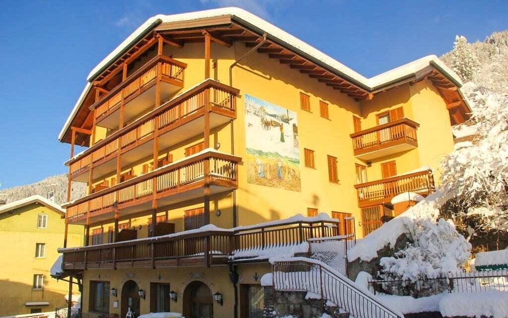 Hotel Dolomiti *** leží v krásném horském prostředí