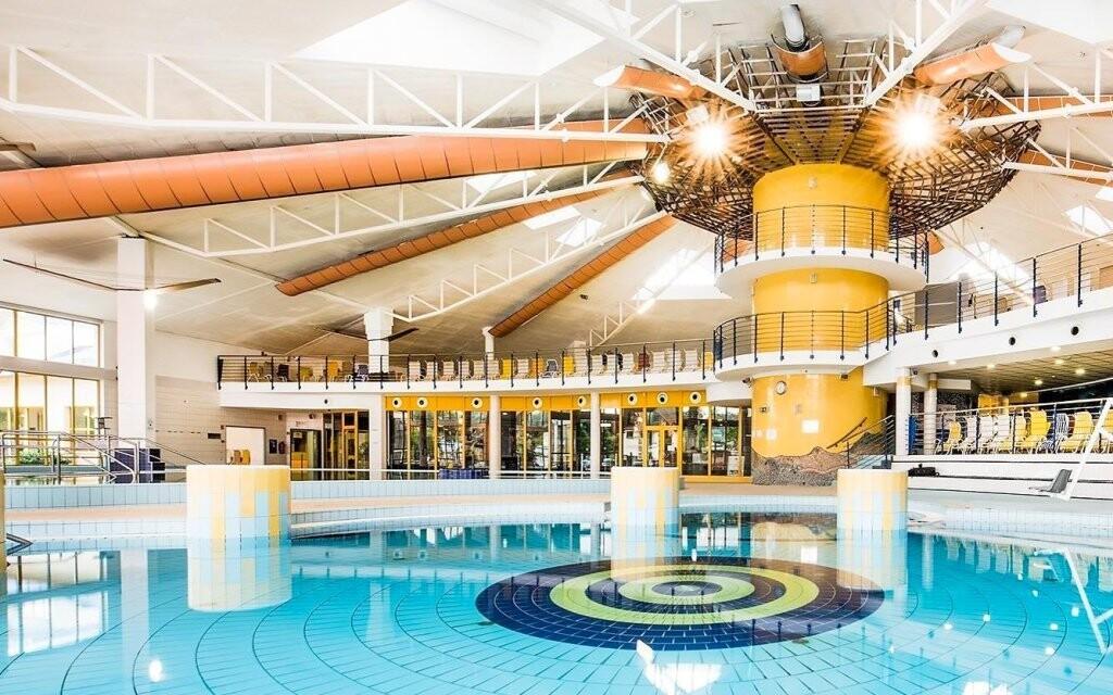 V lázních Sárvár najdete bazény s léčivou termální vodou