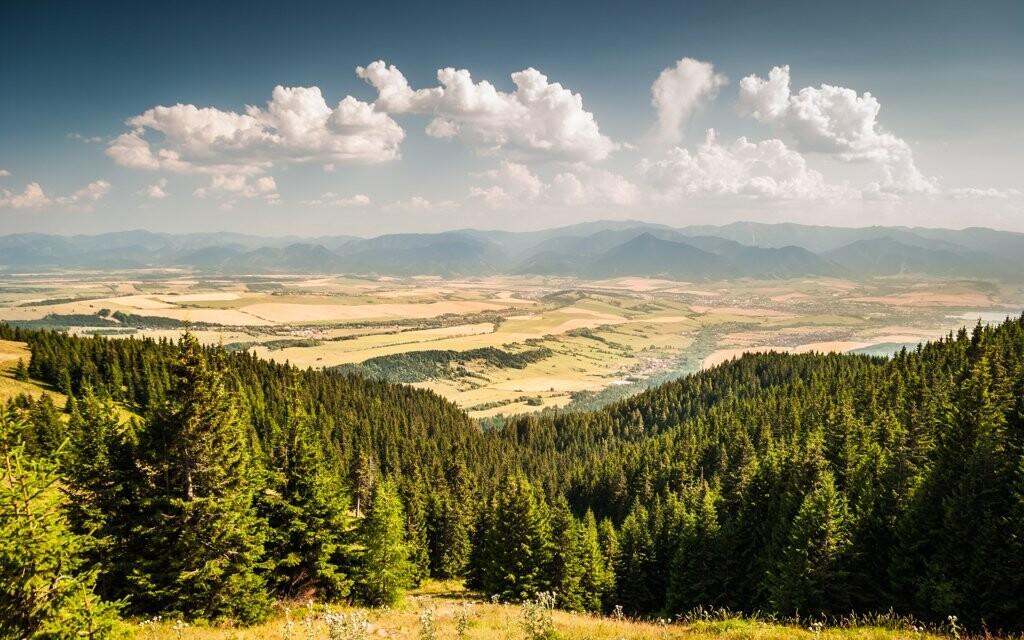 Národný park Nízke Tatry, na hory na Slovensko