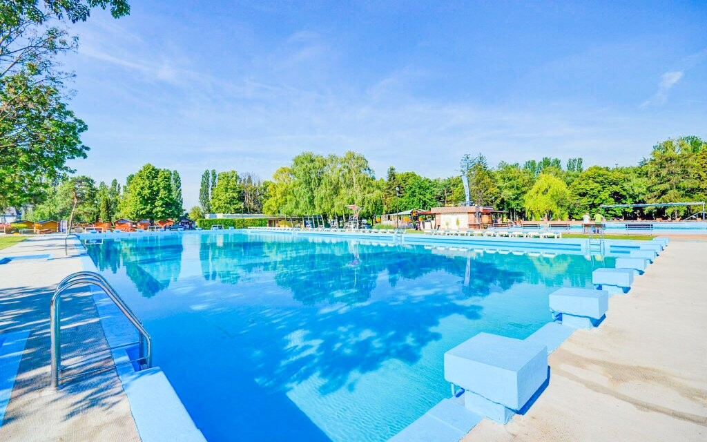 Thermalpark, venkovní bazény, Dunajská Streda