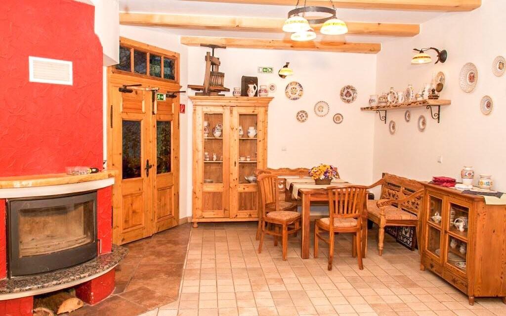 V reštaurácii sa podávajú slovenské ľudové jedlá