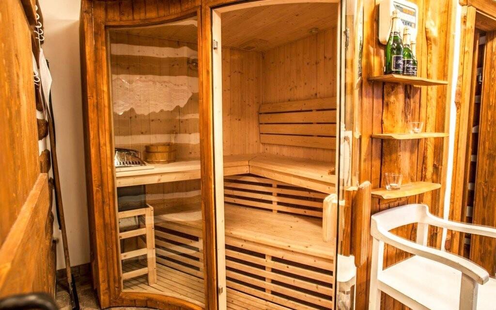Je tu pro vás také sauna