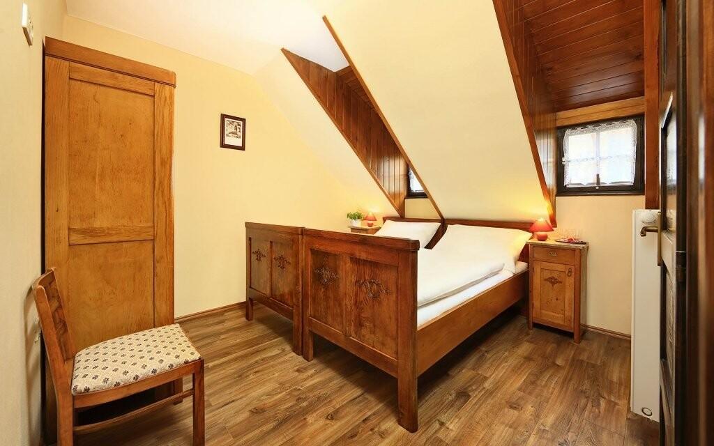 Izby sú krásne vybavené