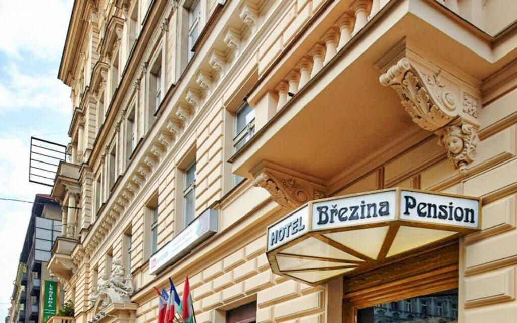 Penzion Březina leží kousek od centra