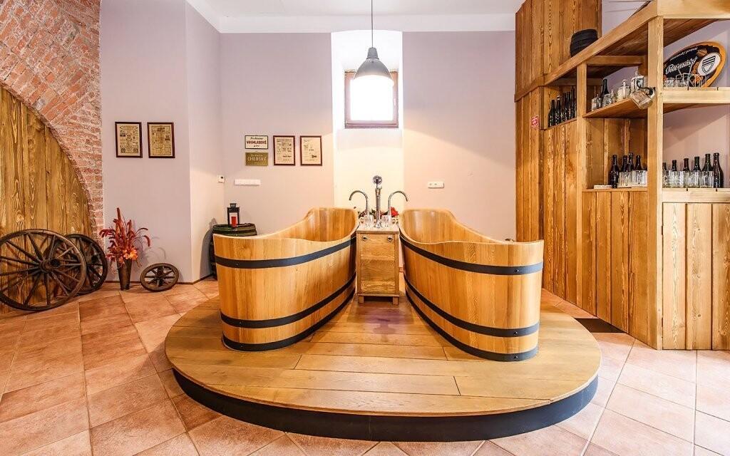 Těšit se můžete na skvělé pivní koupele