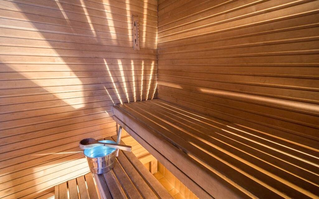 Nájdete tu miestnosť so saunami
