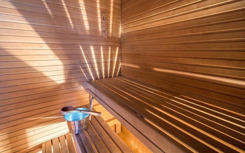Najdete tu místnost se saunami