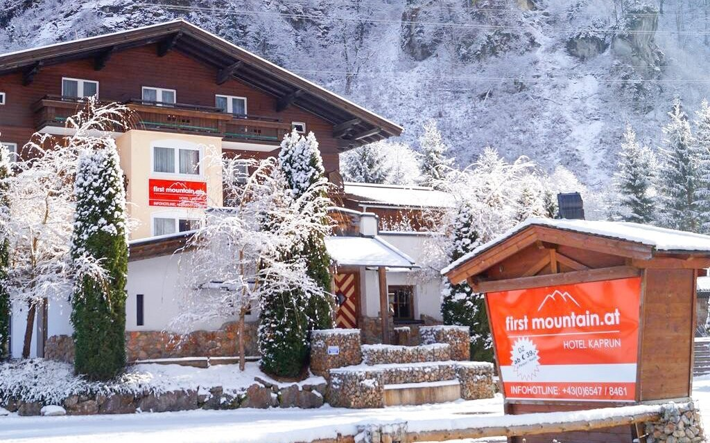 Hotel Kaprun stojí ve stejnojmenném městě v Rakousku