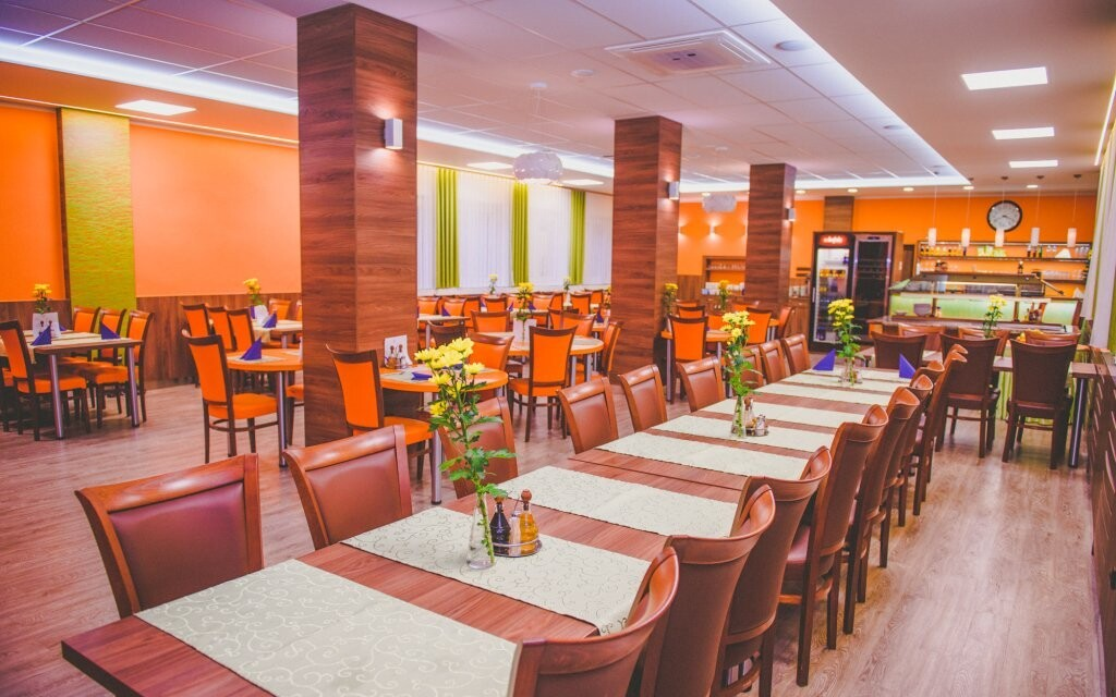 V restauraci vás čeká polopenze