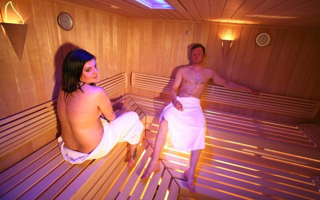 Môžete relaxovať v saune