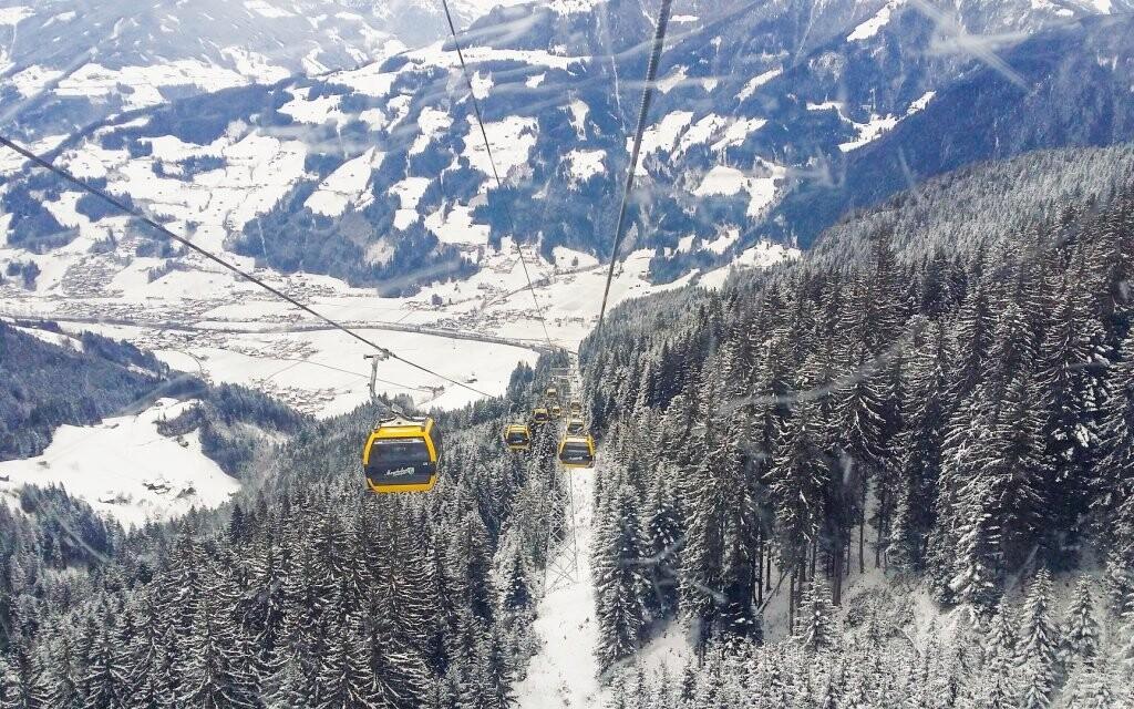 Zillertalské Alpy ponúkajú skvelé podmienky na zimné športy