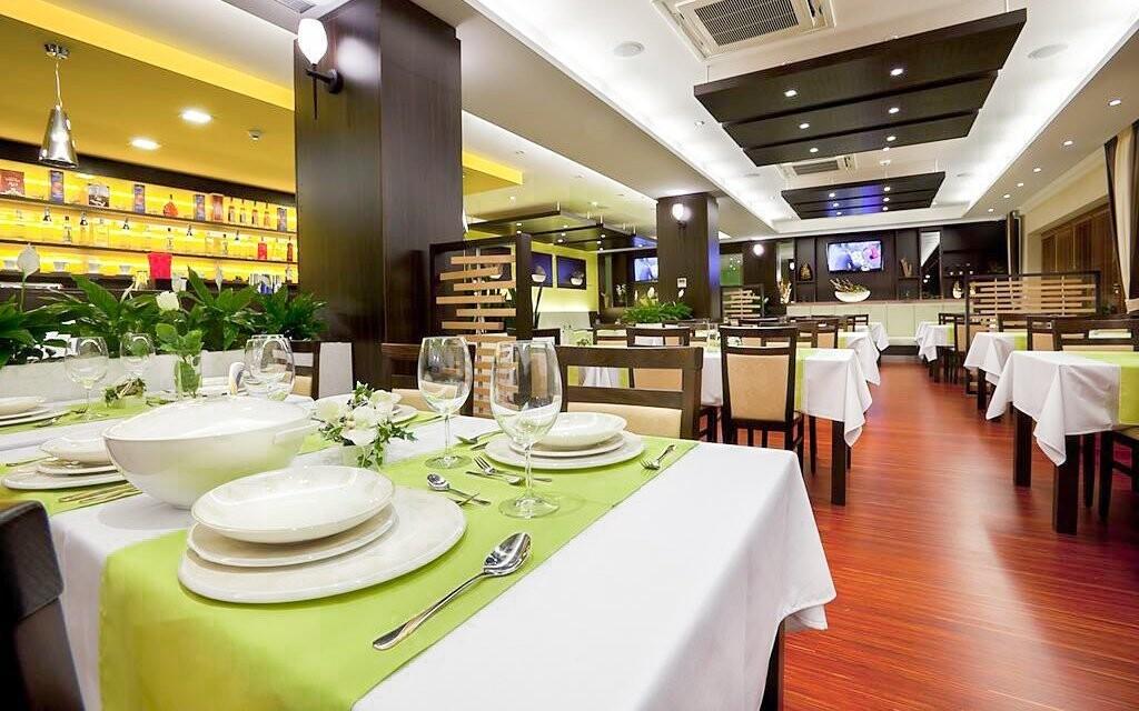 V restauraci hotelu si pochutnáte na slovenské kuchyni