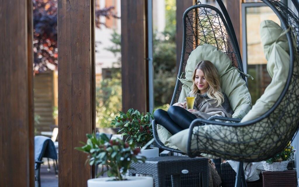 Interiéry i exteriéry hotelu jsou luxusní