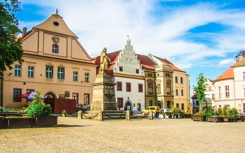 Tábor je známý pro své krásné historické centrum