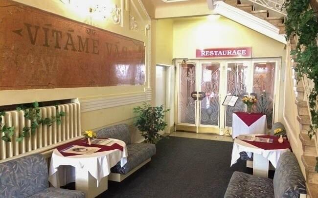 Hotel má hezký nejen exteriér, ale i vnitřní prostory