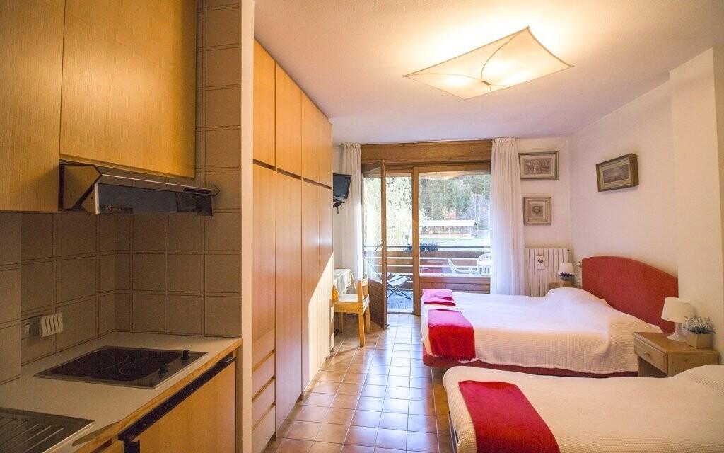 K dispozici jsou i apartmány s kuchyňkou