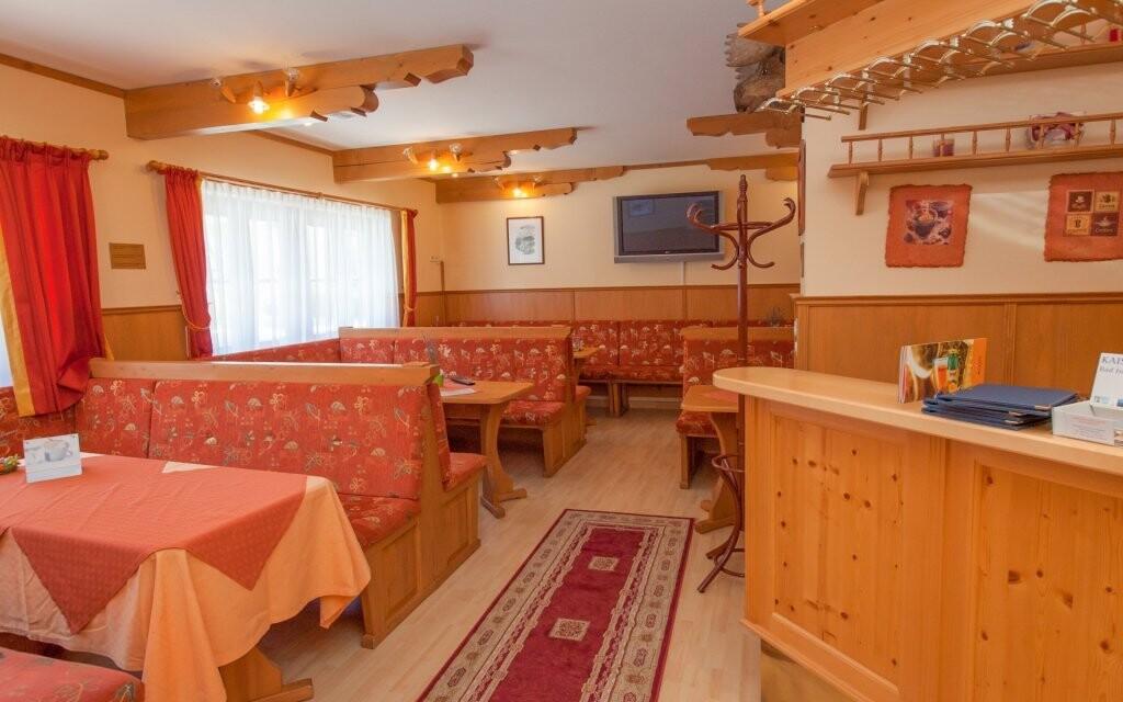Interiéry hotelu vás nadchnou