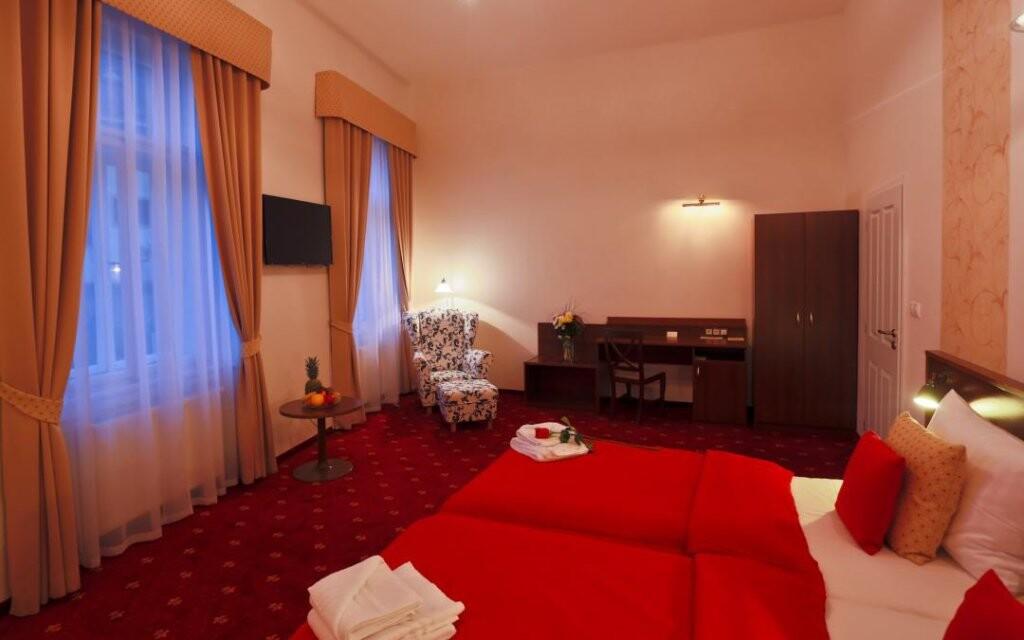 Za príplatok sa ubytujte v izbe Superior či Suite