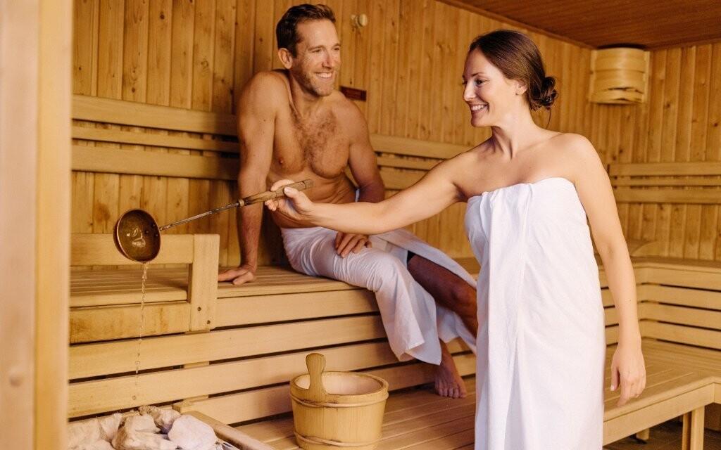 Využijte také saunu