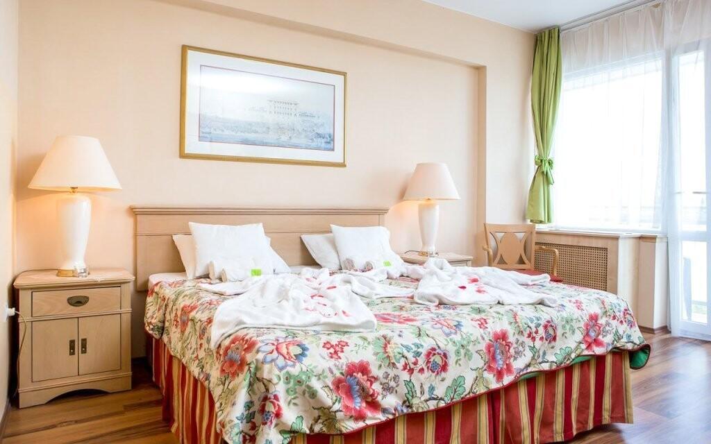 Komfortně zařízené pokoje