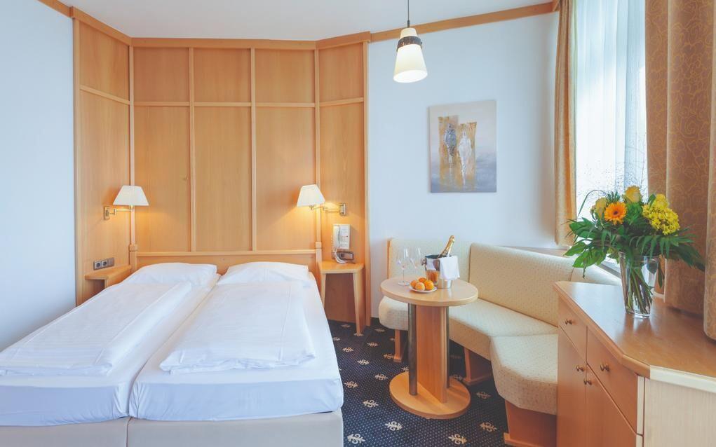 Pokoje jsou čisté, světlé a zaručují maximální komfort