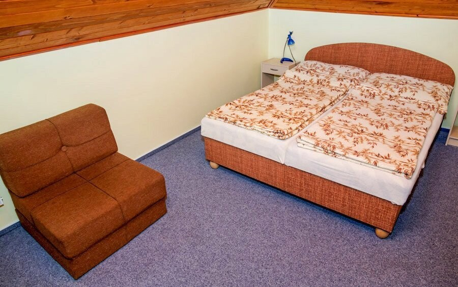 Čekají na vás pohodlné pokoje