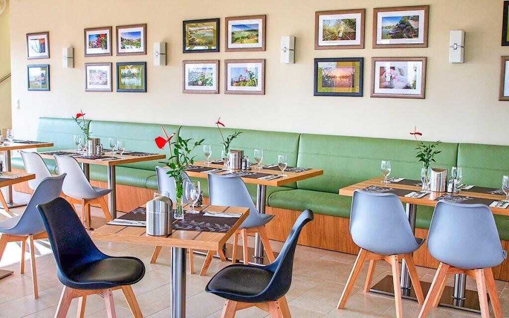 Jíst budete v této krásné restauraci