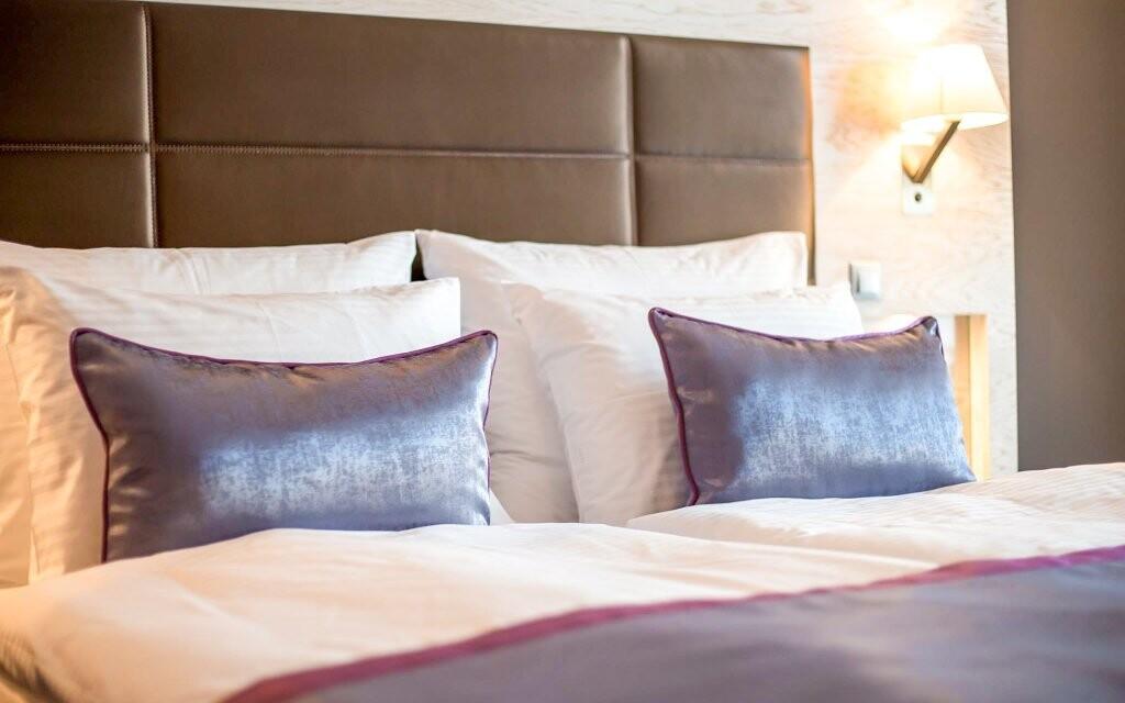 Pokoje Standard jsou krásné a plně vybavené