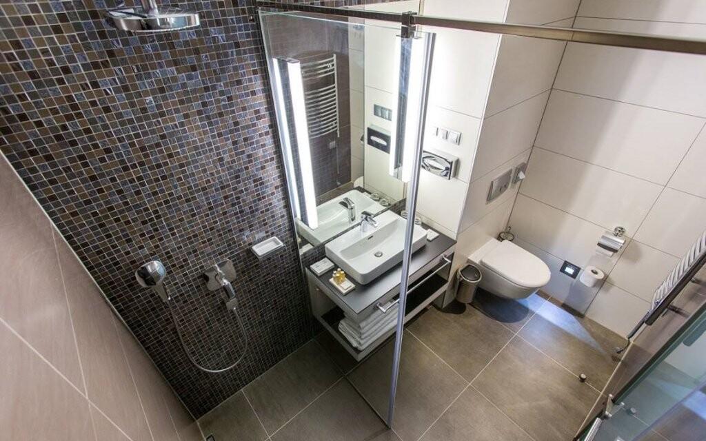 Těšte se také na moderní koupelnu